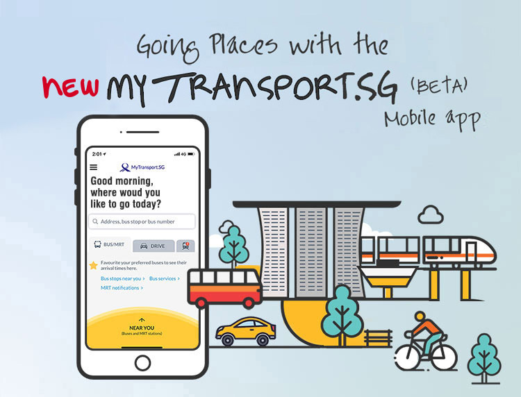 LTA Upgrades Transit App to offer more Customization Features for Users