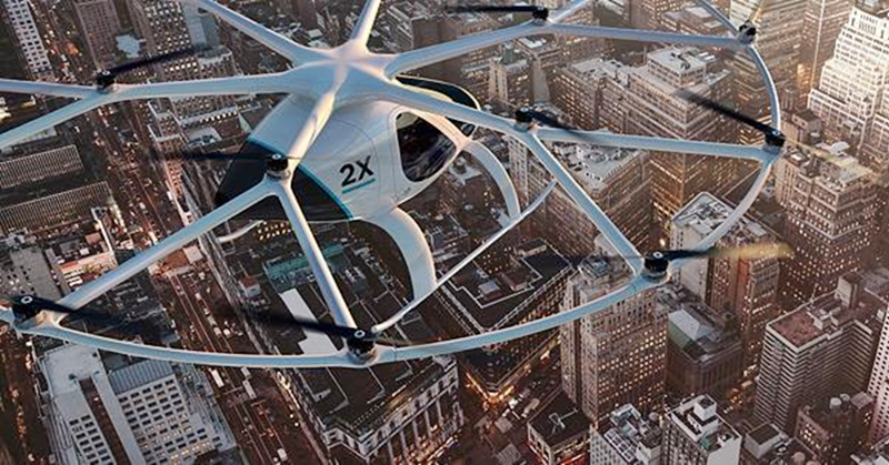 Air Taxi Trials to Begin in Singapore Next Year