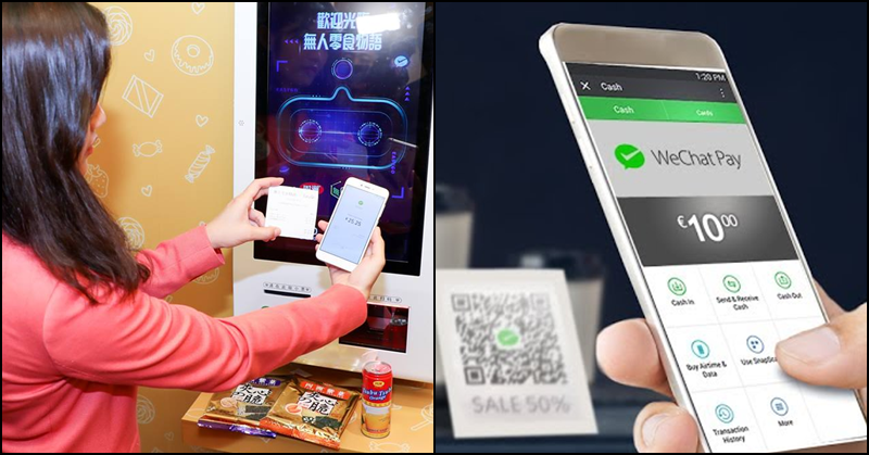 Customers can Purchase thru WeChat Pay at 600 Outlets in SG starting November 1
