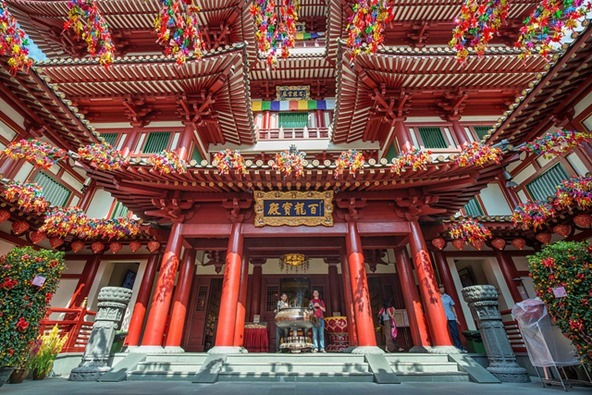 Buddha Tooth Relic Temple SG