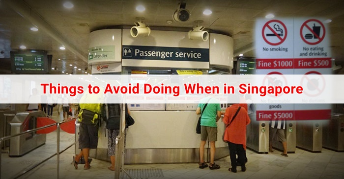 singapore donts - not to do