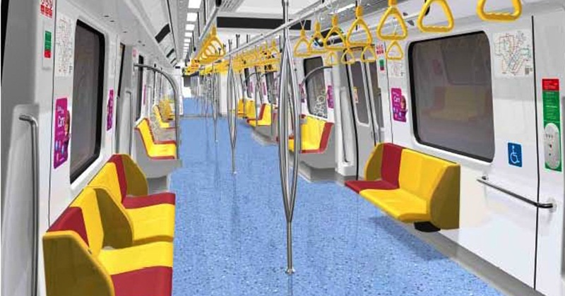 SMRT Introduces New C151C Trains with Tip-up Seats
