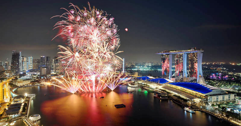 Marina Bay to Hold Fireworks and Light Show for 2019 Countdown