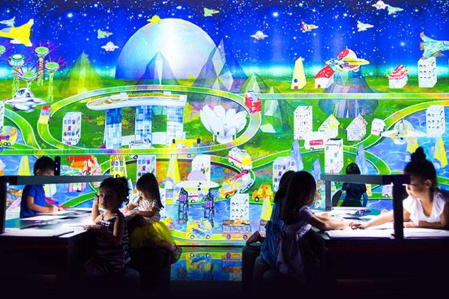 Marina Bay Sands SkyPark Children