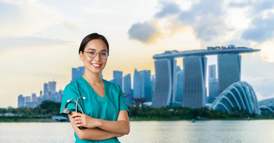 What is the Monthly Salary of a Nurse in Singapore?
